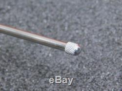 Starrett Metric Dial Indicator 50mm range 0.01mm Precision No. 655-2081