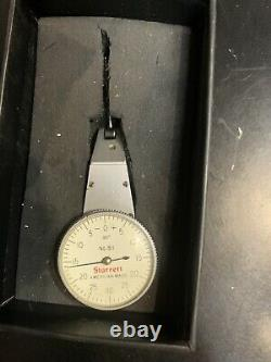 Starrett Mod. 811 Horizontal Vertical Dial Test Indicator. 001 Nice Used WithBox