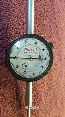 Starrett NO. 25 2041 Dial Indicator. 001