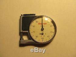Starrett No. 1010 Dial Indicator Pocket Gage