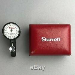 Starrett No. 170 Dial Sheet Gage/Gauge 170Z 0-0.100 (. 001 Div) withOriginal Case