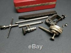 Starrett No. 196 Anti-Magnetic Back Plunger Dial Indicator 196A6Z Machinist Test
