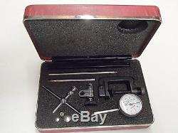 Starrett No. 196 Dial Indicator Complete Set Kit. 001
