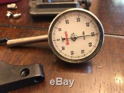 Starrett No. 196 Dial Test Indicator Complete Set See Pictures