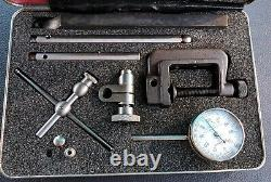 Starrett No. 196 dial indicator set Great shape