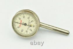 Starrett No. 196A Dial Test Indicator Complete Set with Original Box No Etchings