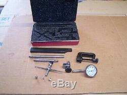 Starrett No. 196A6Z Universal Back Plunger Dial indicator