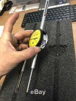 Starrett No. 25-2081 50mm Range. 01mm Metric Dial Indicator