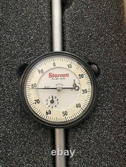 Starrett No 25-3041 3 Dial Indicator