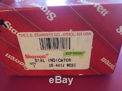 Starrett No. 25-441 Dial Indicator