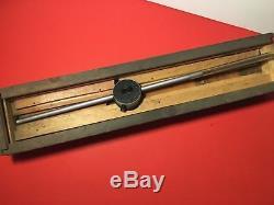 Starrett No. 25-5041 Dial Indicator 5 Long Range