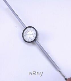 Starrett No 25-5041J Dial Indicator, 0-4 Range, 001 Grads, 375 Stem Diameter