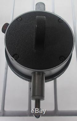 Starrett No. 25-611 Dial Indicator. 0001 Grads. 20 Inch Range 0-10 Dial