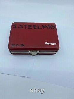Starrett No. 253 Z Three Piece Dial Indicator Set with Case and Original Box