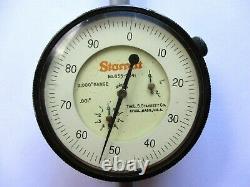 Starrett No. 655-2041.001 Dial Indicator 2.000 Range