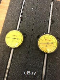 Starrett No. 655-3081 75mm 0-100 Dial