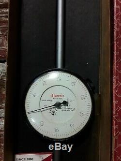 Starrett No. 656 3041J 5 Long Range Dial Indicator. 001 Grad. 0 to 100