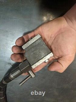 Starrett No. 657 magnetic base with Flex-O-Post