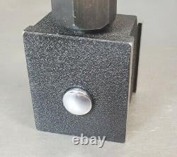 Starrett No. 657T magnetic base with Flex-O-Post