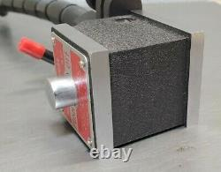 Starrett No. 657T magnetic base with Flex-O-Post MINT with 657W fine adjustment