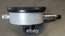 Starrett No. 658 heavy-duty magnetic base with Starrett No. 25-131 dial indicator
