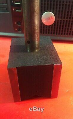 Starrett No. 659 magnetic base with No. 81-236 dial indicator