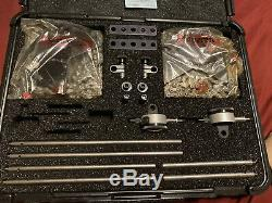 Starrett No. 668 Series Dual Shaft Alignment Indicator Clamp Set With Hard Case