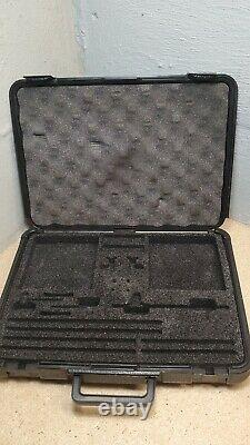 Starrett No. S668CZ shaft alignment set in fitted case