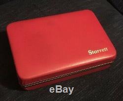 Starrett Precision Swivel Head Dial Test Indicator 811-1CZ Machinist Tool 0-30-0