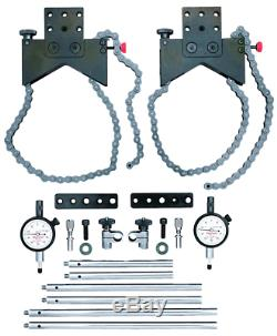 Starrett S 668CZ shaft alignment clamp set with fitted case FREE SHIPPING