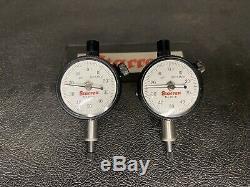 Starrett S668DZ Alignment Clamp Set With (2) 81-141J Indicators