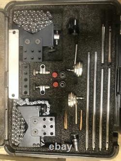 Starrett S668cz Alignment Clamp Set With196B5 Indicator