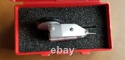 Starrett Test Dial Indicator. 0005 Inch With Padded Case, 811-5PZ (NEW)