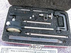 Starrett USA 645 dial indicator heavy duty machinist toolmaker tools tool