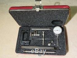 Starrett Universal Dial Test Indicator #196 Complete Set
