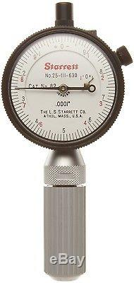 Starrett dial indicator 82C1 + individual probe 82C4