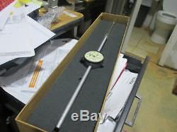 Starrett dial indicator Modeel 25-5041J range 0 5, 3/8 stem diamter