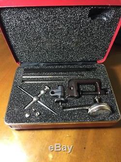 Starrett dial indicator set No. 196