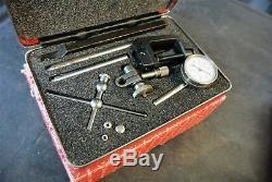 Starrett dial test indicator magnetic base combo 196A1Z 657AA starrett