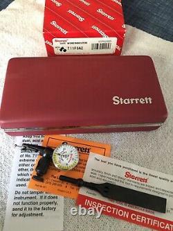 Starrett last word 711 dial indicator, New In Box, Model 711FSAZ. 001 Grad
