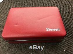 Starrett universal back plunger dial indicator