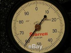 Two Starrett 81-241 indicators