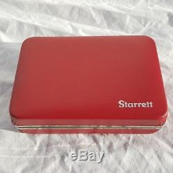 USA R811-5cz Starrett Dial Test Indicator With Swivel Head 811 811-5cz Red Face