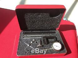 USED STARRETT 196A1Z Universal Back Plunger Dial Indicator NICE $159 196 113106B