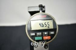 VDW Commercial Adjustable Dual Dial Indicator Base Mitutoyo & Starrett Indicator