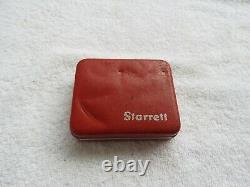 VINTAGE Starrett Last Word Large Dial Indicator #711-D-10 Very Good Shape
