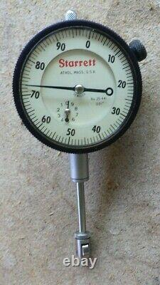 VTG Starrett 669 Heavy Duty Magnetic Base With Extensions 25-441 Dial Indicator