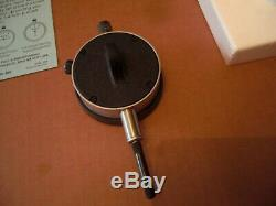 Very Llghtly Used Starrett No. 25-211 Jeweled Dial Indicator. 0001 USA Made