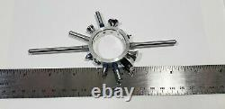 Vintage L. S. Starrett Co. No 25R Dial Indicator Contact Points & Ring 14 Used #2
