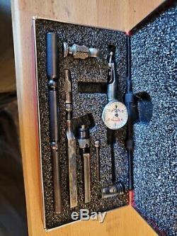 Vintage Machinist Tool STARRETT No 711 Last Word Dial Indicator Antique Tool